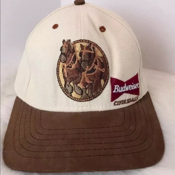 b3e14dcbfe2 budweiser Other - Vintage Budweiser Clydesdales Beer Hat Cap 1995